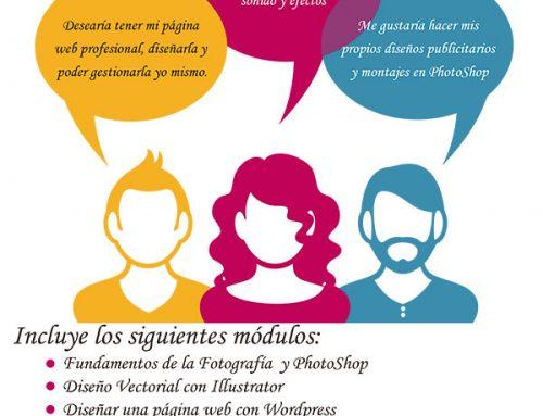 Curso de Diseño Gráfico, Web y Multimedia