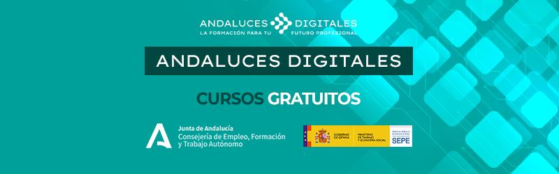 Cursos gratuitos - Andaluces Digitales